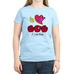 I-L-Y Mom Women's Light T-Shirt