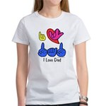 I-L-Y Dad Women's T-Shirt