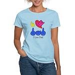 I-L-Y Dad Women's Light T-Shirt