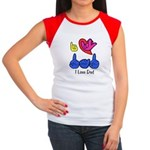I-L-Y Dad Women's Cap Sleeve T-Shirt