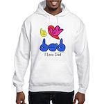I-L-Y Dad Hooded Sweatshirt