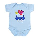 I-L-Y Dad Infant Bodysuit