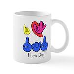 I-L-Y Dad Mug