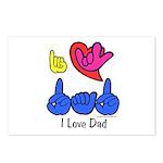 I-L-Y Dad Postcards (Package of 8)