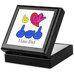 I-L-Y Dad Keepsake Box