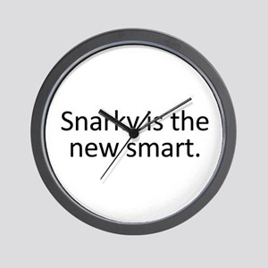 Snarky is the New Smart Wall Clock