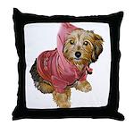 cuteness in da hood Throw Pillow