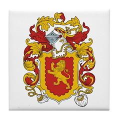 Powis Coat of Arms Tile Coaster