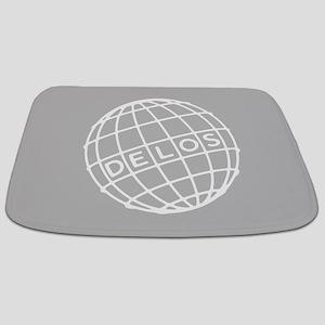 Westworld Delos Globe Bathmat