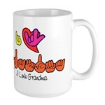I-L-Y Grandma Large Mug