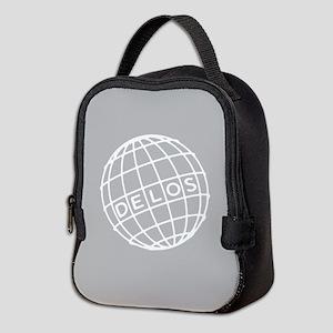 Westworld Delos Globe Neoprene Lunch Bag