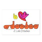 I-L-Y Grandma Postcards (Package of 8)