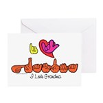 I-L-Y Grandma Greeting Cards (Pk of 10)