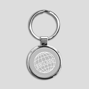 Westworld Delos Globe Keychains