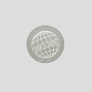 Westworld Delos Globe Mini Button