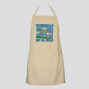 Windmills Not Oil Spills Apron