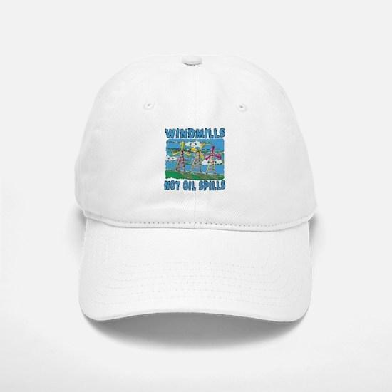 Windmills Not Oil Spills Cap