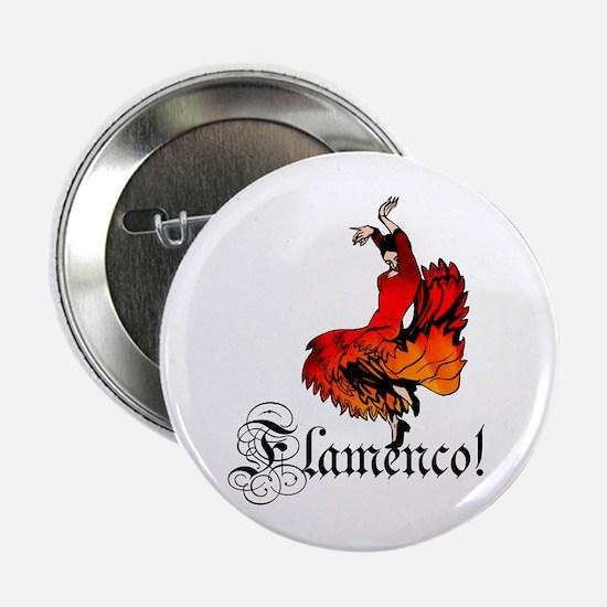 "Flamenco Dancer 2.25"" Button (10 pack)"