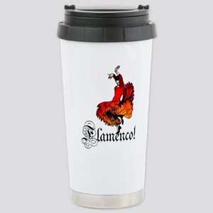 Flamenco Dancer Stainless Steel Travel Mug