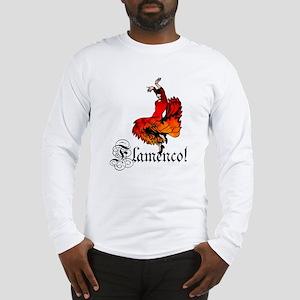 Flamenco Dancer Long Sleeve T-Shirt