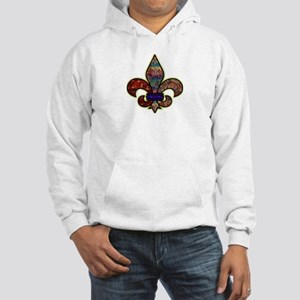 Batik Hooded Sweatshirt