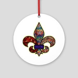 Batik Ornament (Round)