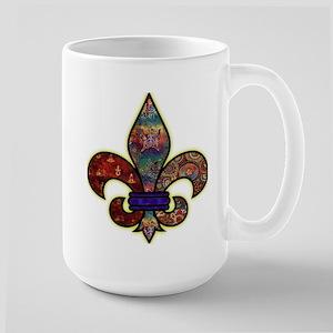 Batik Large Mug