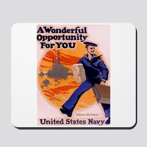 A Wonderful Opportunity for You Mousepad