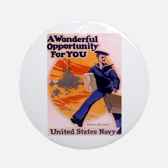 A Wonderful Opportunity for You Ornament (Round)