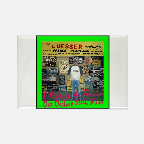 Fool the Guesser Rectangle Magnet