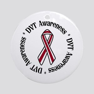 DVT Awareness Ornament (Round)