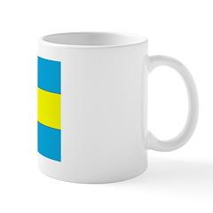 Bahamas Blank Flag Mug