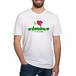 I-L-Y Grandpa Fitted T-Shirt
