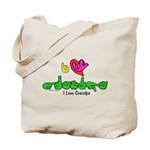 I-L-Y Grandpa Tote Bag