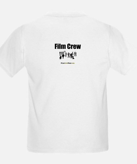"""Film Crew"" Kids T-Shirt (FRONT & BACK)"