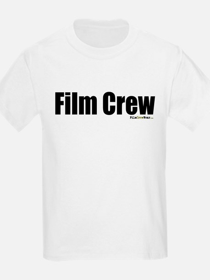 """Film Crew"" Kids T-Shirt (FRONT & BACK)"