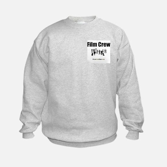 """""""Film Crew"""" Sweatshirt (FRONT & BACK)"""