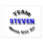 Team Steven 2 Small Poster