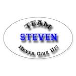 Team Steven 2 Sticker (Oval 10 pk)