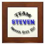 Team Steven 2 Framed Tile