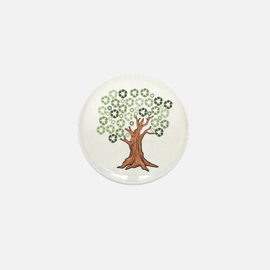 Cute Reduce reuse recycle Mini Button