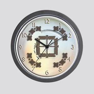 Celtic Dragonfly Wall Clock