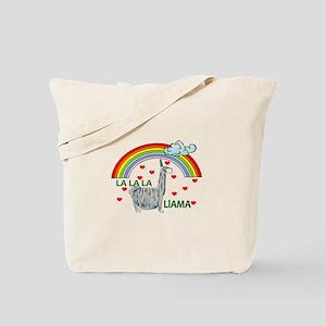 LA LA LA LlAMA Tote Bag