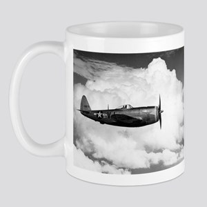 P-47 and Clouds Mug