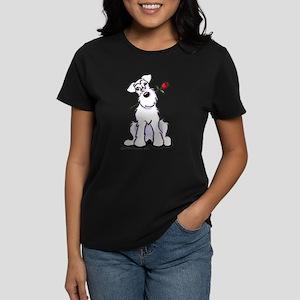 Schnauzer Sweetheart Women's Dark T-Shirt