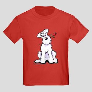 Schnauzer Sweetheart Kids Dark T-Shirt