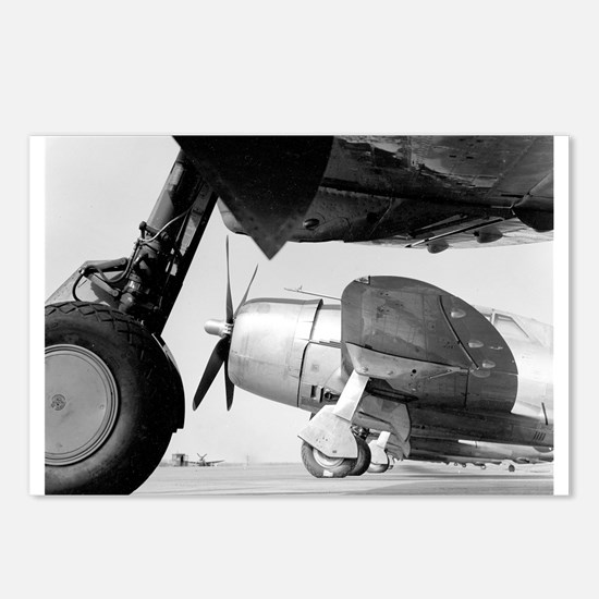 P 47 thunderbolt Postcards (Package of 8)