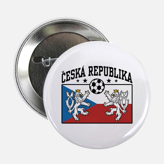 "Ceska Republika Soccer 2.25"" Button"