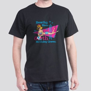 Beachy Keen 60th Birthday Dark T-Shirt