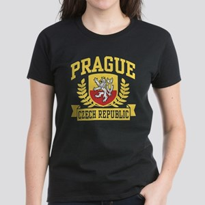 Prague Czech Republic Women's Dark T-Shirt